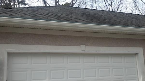 Gutter Gard Matching Roof